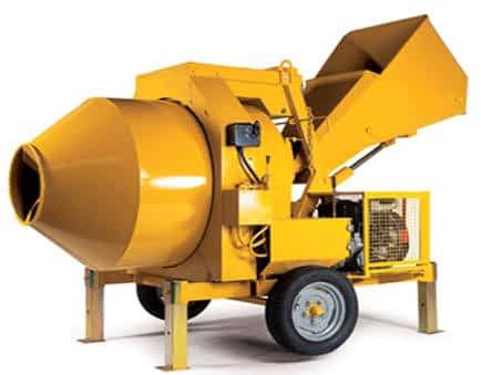 Building construction equipment rental